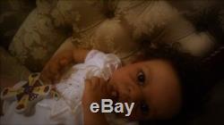PROTOTYPE REBORN Ethnic Biracial Toddler LUXURY SILICONE Zuri Bonnie Sieben