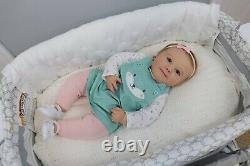PROTOTYPE Reborn Baby Realborn June 7m Awake Made By Silvia Esquerra