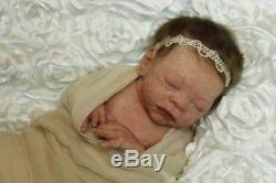 Paisley Full Body Silicone Newborn baby girl by Joanna Gomes soft ecoflex 20