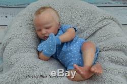 Pbn Yvonne Etheridge Baby Boy Realborn Quinn Asleep By Bountiful Baby 0218