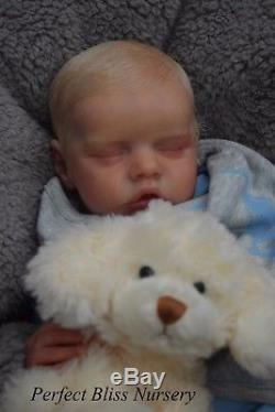 Pbn Yvonne Etheridge Reborn Baby Doll Boy Sculpt Twin B By Bonnie Brown 0517