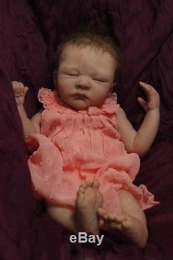 Polina Solid Silicone Ecoflex20 Full Body Silicone Newborn Baby Girl