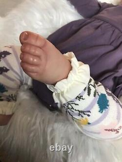 Pre-owned Maddie by Bonnie Brown Reborn Baby Doll