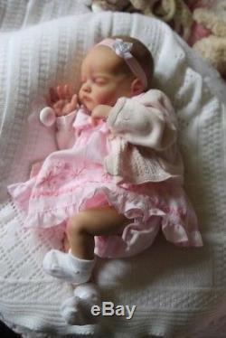 Precious Baban Laura Lee Eagles Birdie A Beautiful Reborn Newborn Baby Girl