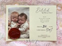 Precious Delilah By Nikki Johnston, Reborn By Donna Engle