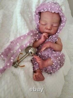 Preemie reborn doll Mick by Adrie Stoete reborn Artist Alejandra Gonzalez