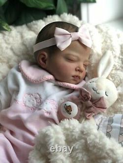 RARE! Beautiful Reborn Baby Girl YONA Cuddle Baby Realistic Therapy Doll