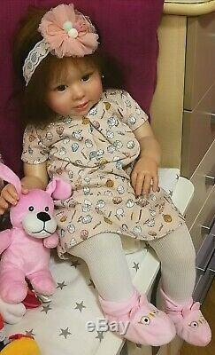 REBORN BABY DOLL GIRL TODDLER Bonnie