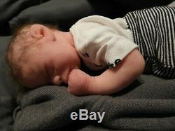 REDUCED Full Body Silicone Baby Boy Milo by Nekketa Brown