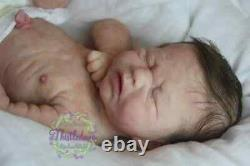 REDUCED Mondays Child FBS By Joanna K, painted by Anne Cameron reborn doll/baby