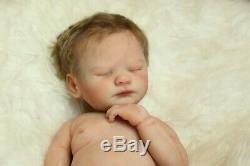 Ready To Ship Full Body Silicone Baby Girl Doll Cirrus COA artist Proof