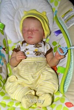 Realborn Evelyn Reborn baby boy doll Christmas bundle