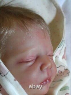 Realborn Johannah Reborn baby girl So sweet
