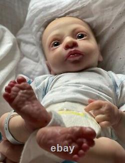 Realborn Thomas Awake. Preemie Size
