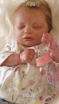 Realborn baby girl Skya beautiful