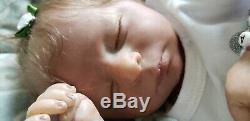 Realborn baby girl bella realistic molted skin tones