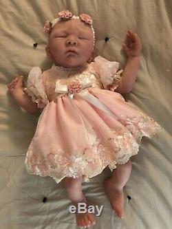 Realistic Full Body Silicone Baby Doll By Bonnie Sieben