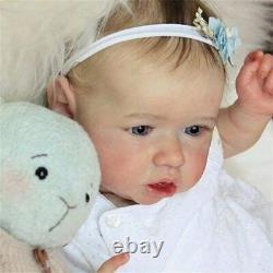 Realistic Reborn Baby Dolls Newborn Babe Doll Soft Full Vinyl Silicone Body