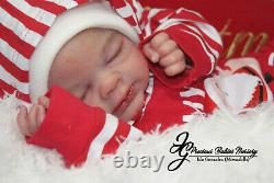 Reborn Baby Boy Gideondown Mcleod/mimadolls Artistscoal. Enewborndollsiiora