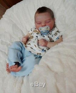 Reborn Baby Boy Jade Bountiful Baby Realborn Lifelike Realistic Newborn doll