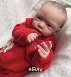 Reborn Baby Boy Malea By Gudrun Legler