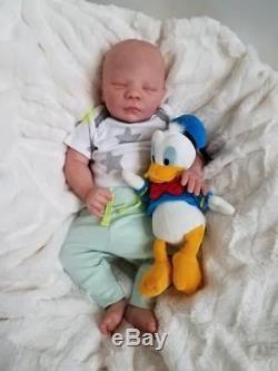 Reborn Baby Boy Realborn DOMINIC Asleep Bountiful Baby Lifelike Doll