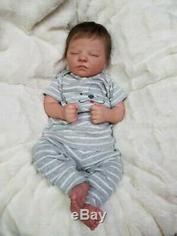 Reborn Baby Boy Realborn QUINN Bountiful Baby Ultra Realism! Lifelike Doll