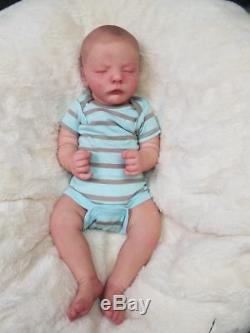Reborn Baby Boy Realborn REESE Bountiful Baby Ultra Realism! Lifelike Doll