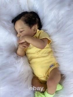 Reborn Baby Doll Biracial Levi