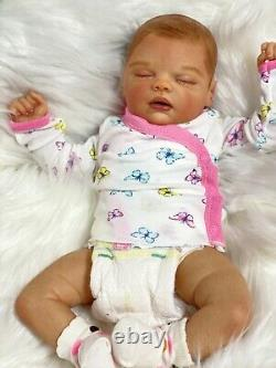 Reborn Baby Doll Kiara By Nikky Johnson The Perfect Gift Ready To Go
