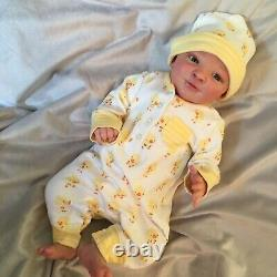 Reborn Baby Doll Realborn Joseph Awake Created By Stephanie Ortiz