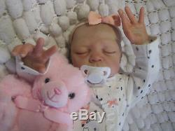 Reborn Baby Doll Silicone V Hand Painted Eva Helland Boy/girl Sunbeambabies Ghsp