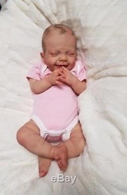 Reborn Baby Girl APRIL by Joanna Kazmierczak LIMITED EDITION Lifelike Doll