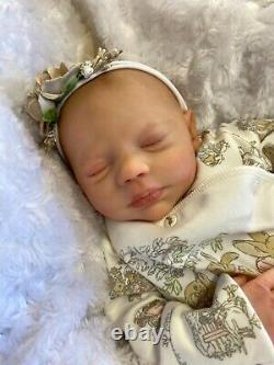 Reborn Baby Girl Art Doll Peter Rabbit Outfit Uk Artist Realborn Sculpt S