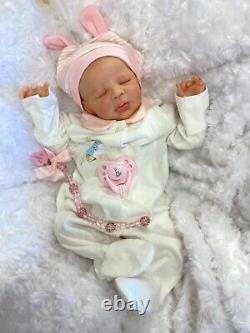 Reborn Baby Girl Art Doll Peter Rabbit Outfit Uk Artist Zendric Ltd Ed Sculpt
