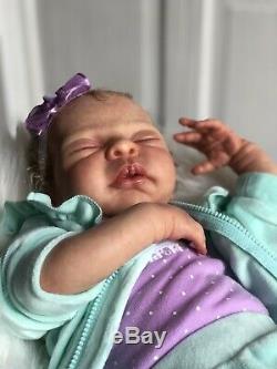 Reborn Baby Girl Aurelia OOAK, By Elisa Marx
