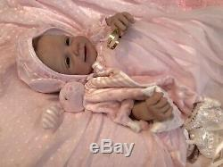 Reborn Baby Girl Bianca Silicone Sculpt by Romie Strydom! #11/11 So Sweet