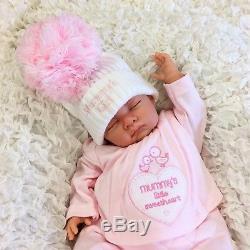 Reborn Baby Girl Doll Heavy Floppy Feels Like Real Baby Mummys Girl S