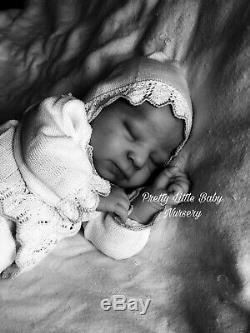 Reborn Baby Girl Doll Luciano By Cassie Brace Ltd Edition