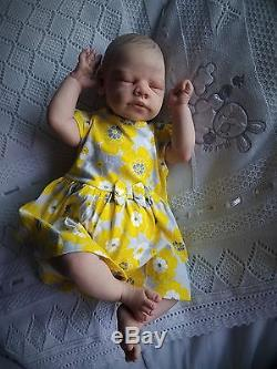 Reborn Baby Girl Ellis by Tina Kewy Top Artist Olga Saranchuk Sold Out Kit HTF