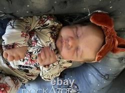Reborn Baby Girl Levi Bonnie Brown by Elena Kipriyanova