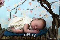 Reborn Baby Girl, PROTOTYPE XANDER by Cassie Brace lifelike doll