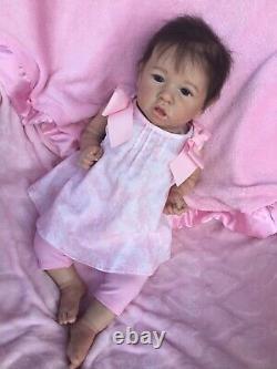 Reborn Baby Girl Saskia By Bonnie Brown