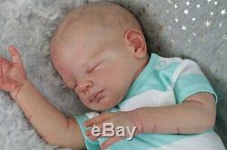 Reborn Baby Jack Kewy reborned by artist Silvia Ezquerra, Very Realistic