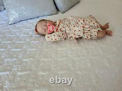 Reborn Baby NevaehLimited Edition 208/850By Cassie Brace