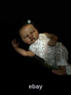 Reborn Baby Romy by Gudrun Legler Ethnic AA Biracial