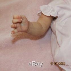 Reborn Baby Tobiah By Professional Artist BEAUTIFUL Soft Vinyl Feltman Layette