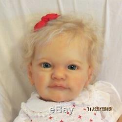 Reborn Baby Tobiah By Professional Artist Signed Soft Vinyl Feltman Layette