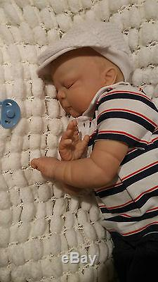 Reborn Baby Toddler Doll 7lbs Cindy Musgrove Sunbeambabies Realistic Doll 25