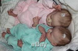 Reborn BabyCUSTOM TWIN A Or TWIN B By B BrownProfessionalVery Realistic Work